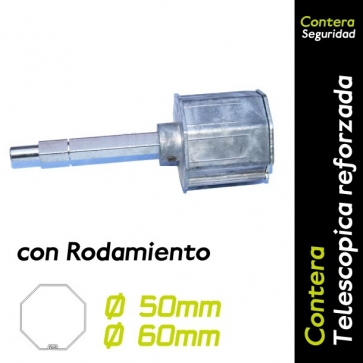 Contera regulable octogonal con rodamiento