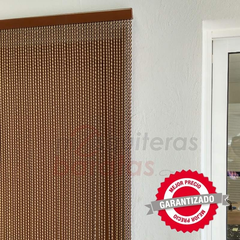 Cortina exterior pl stico antimoscas ajustable en medida for Puertas 90 x 210