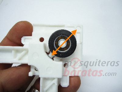 ruedas regulables para mosquiteras correderas