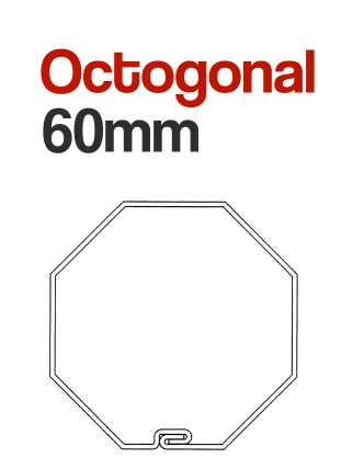 Eje Octogonal 60 Motor Persiana
