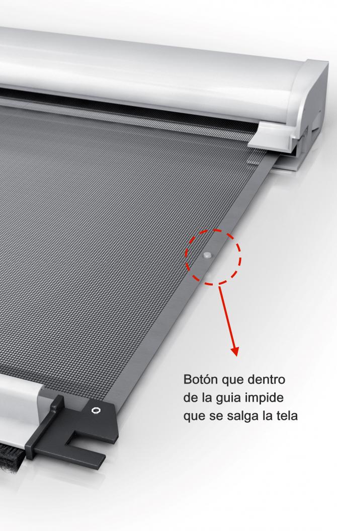 Mosquiteras enrollables para ventanas de aluminio tela - Tela mosquitera aluminio ...