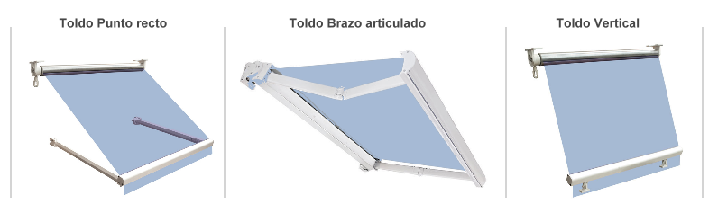 Motor mecanico super corto para persianas o cortinas enrollables - Toldos verticales enrollables ...